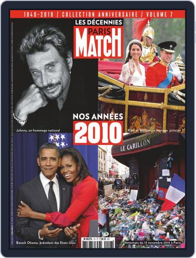 Paris Match décennies January 1st, 2019 Digital Back Issue Cover