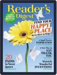 Reader's Digest Digital Magazine Subscription June 1st, 2020 Issue