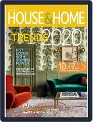 House & Home (Digital) Subscription January 1st, 2020 Issue