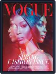 British Vogue (Digital) Subscription March 1st, 2019 Issue