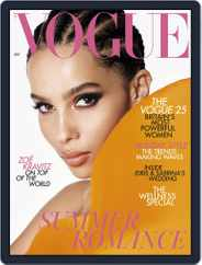 British Vogue (Digital) Subscription July 1st, 2019 Issue