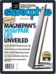 Stereophile (Digital) Subscription August 1st, 2019 Issue