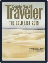 Conde Nast Traveler (Digital) Subscription January 1st, 2019 Issue