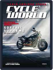Cycle World (Digital) Subscription October 1st, 2017 Issue