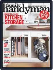 Family Handyman (Digital) Subscription January 1st, 2019 Issue