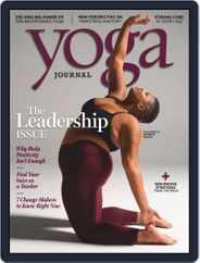 Yoga Journal (Digital) Subscription January 1st, 2019 Issue