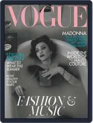 British Vogue (Digital) Subscription June 1st, 2019 Issue