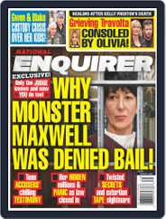 National Enquirer (Digital) Subscription August 3rd, 2020 Issue
