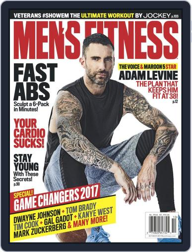 Men's Fitness October 1st, 2017 Digital Back Issue Cover