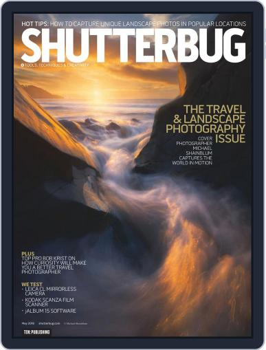Shutterbug May 1st, 2018 Digital Back Issue Cover