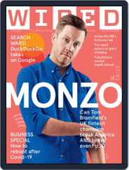 WIRED UK Magazine (Digital) Subscription July 1st, 2020 Issue