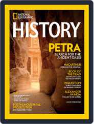 National Geographic History Magazine (Digital) Subscription February 17th, 2016 Issue
