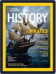 National Geographic History Magazine (Digital) Subscription March 1st, 2016 Issue