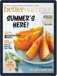 Better Nutrition Magazine (Digital) Subscription July 1st, 2020 Issue