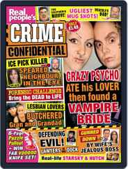Real People's Crime Confidential Magazine (Digital) Subscription June 23rd, 2015 Issue
