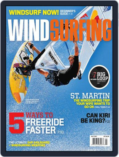 Windsurfing June 20th, 2011 Digital Back Issue Cover
