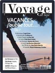 Voyage de Luxe Magazine (Digital) Subscription August 1st, 2018 Issue