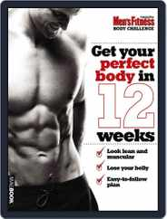 Men's Fitness Body Challenge Magazine (Digital) Subscription April 13th, 2011 Issue