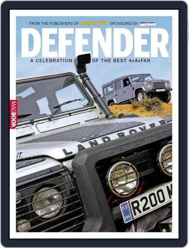 Landrover Defender December 16th, 2011 Digital Back Issue Cover