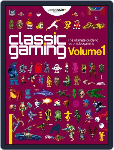 Classic Gaming: Volume 1 July 1st, 2016 Digital Back Issue Cover