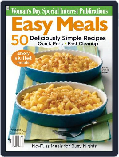 Easy Meals August 5th, 2009 Digital Back Issue Cover