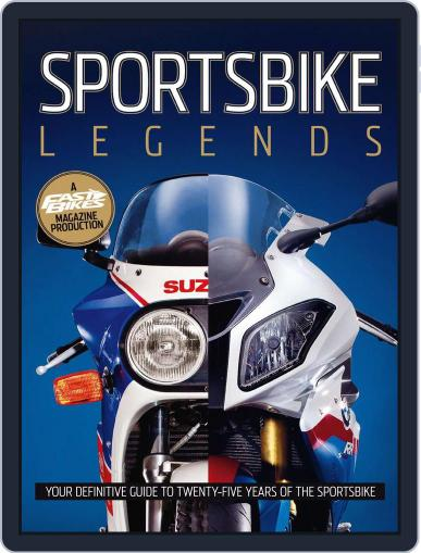 Fast Bikes Bookazine: Sportsbike Legends June 7th, 2010 Digital Back Issue Cover