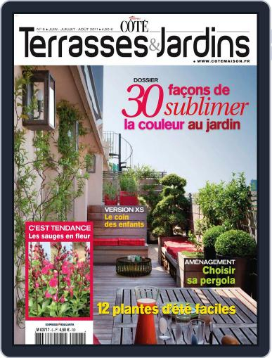 Côté Terrasses et Jardins May 25th, 2011 Digital Back Issue Cover