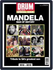 Drum - Nelson Mandela  – Man of History Magazine (Digital) Subscription December 11th, 2013 Issue