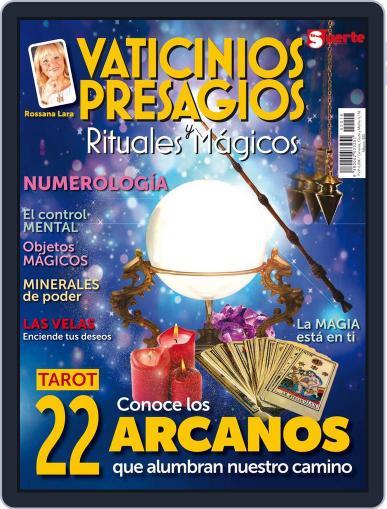 Vaticinios, Presagios y Rituales Mágicos July 20th, 2017 Digital Back Issue Cover