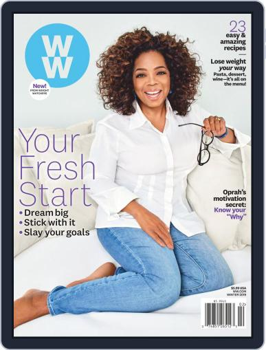 Weight Watchers Digital Back Issue Cover
