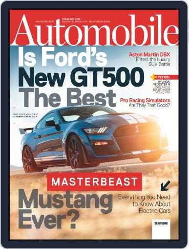 Automobile Digital Back Issue Cover