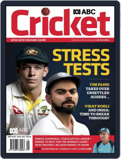 ABC Cricket October 11th, 2018 Digital Back Issue Cover