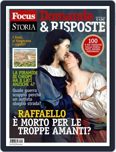 Focus Storia - Speciale Viaggi nel tempo September 1st, 2019 Digital Back Issue Cover