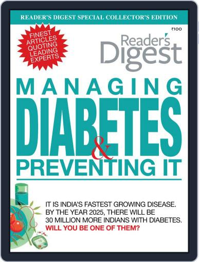 Reader's Digest Specials - Diabetes August 9th, 2012 Digital Back Issue Cover