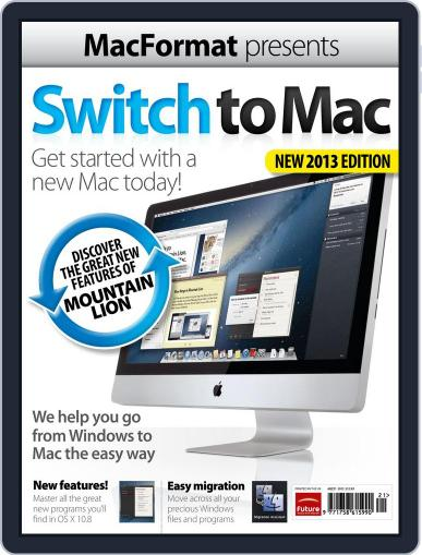 Switch to Mac January 1st, 2013 Digital Back Issue Cover