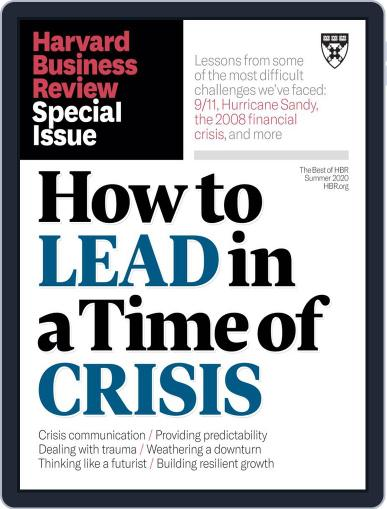 Harvard Business Review Special Issues May 12th, 2020 Digital Back Issue Cover