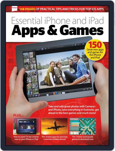 Apps + Games for iPhone and iPad May 14th, 2013 Digital Back Issue Cover