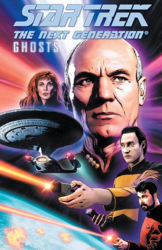 Star Trek: The Next Generation: Ghosts May 1st, 2013 Digital Back Issue Cover