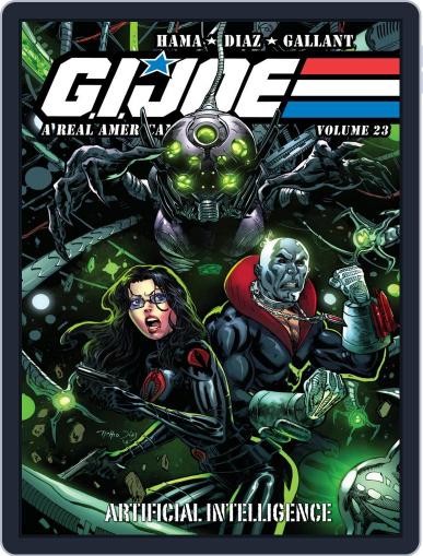 G.I. Joe: A Real American Hero October 1st, 2019 Digital Back Issue Cover
