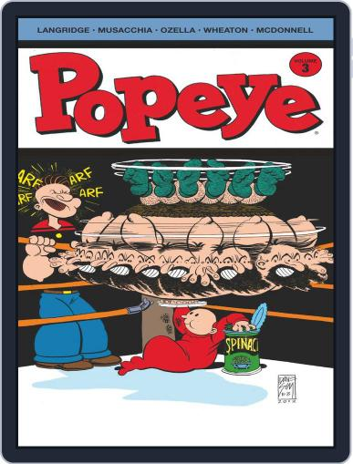 Popeye August 1st, 2013 Digital Back Issue Cover