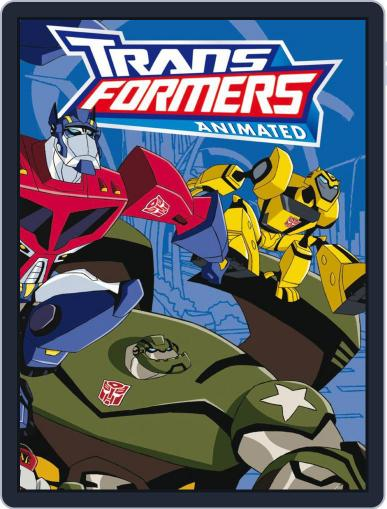 Transformers Animated November 1st, 2012 Digital Back Issue Cover