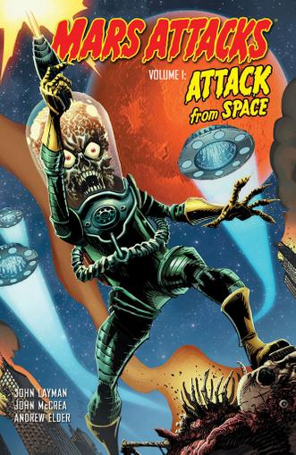 Mars Attacks March 1st, 2013 Digital Back Issue Cover