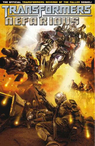 Transformers: Nefarious June 1st, 2011 Digital Back Issue Cover
