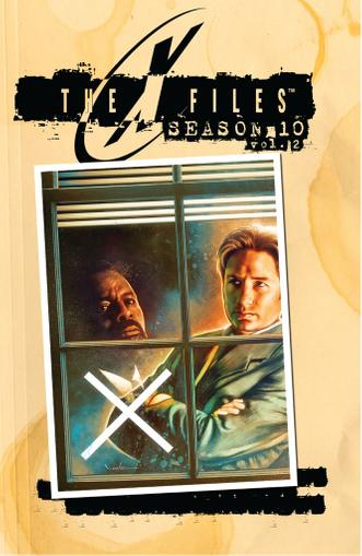 The X-Files: Season 10 May 1st, 2014 Digital Back Issue Cover