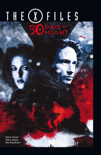 The X-Files/30 Days of Night October 1st, 2015 Digital Back Issue Cover