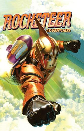 Rocketeer Adventures August 1st, 2012 Digital Back Issue Cover
