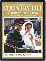 Country Life Royal Wedding Souvenir Issue Magazine (Digital) Subscription June 1st, 2018 Issue