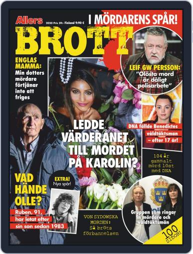 Brott, mord och mysterier April 22nd, 2020 Digital Back Issue Cover