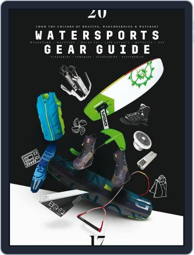 Watersports Gear Guide October 1st, 2016 Digital Back Issue Cover