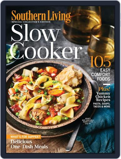 Southern Living Slow Cooker December 1st, 2019 Digital Back Issue Cover